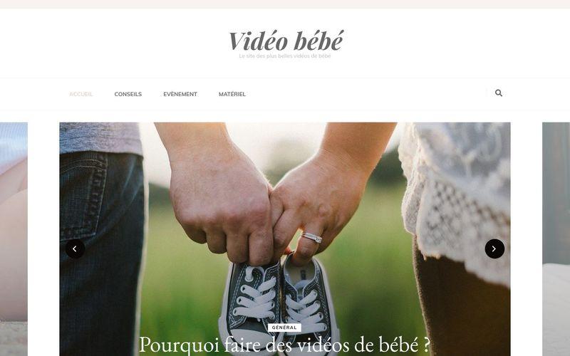 Vidéo bébé - Le site des plus belles vidéos de bébé