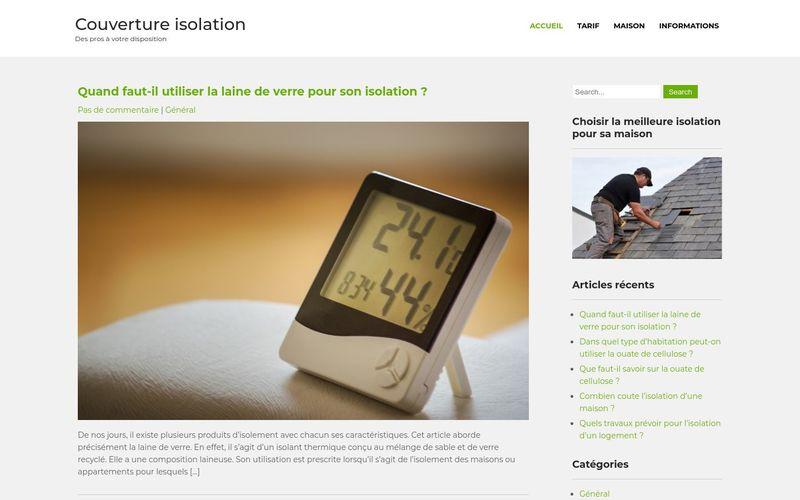 Couverture isolation - Des pros à votre disposition